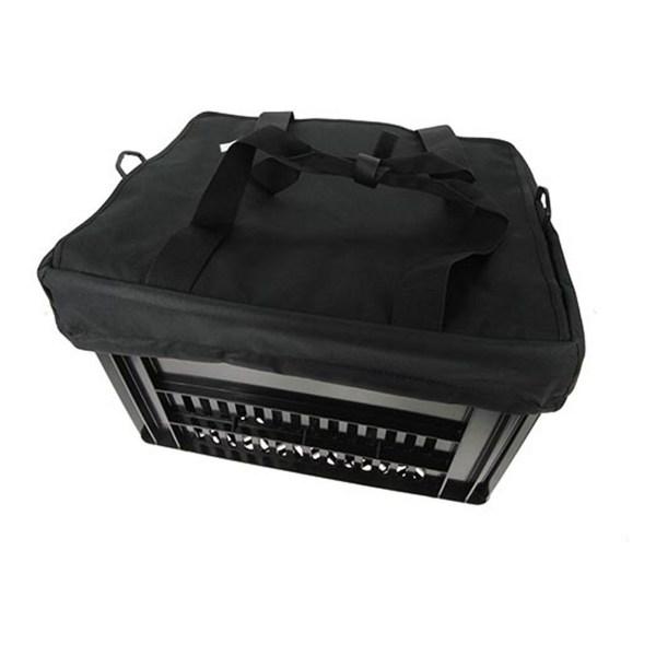 Fietskrattas Crate voor Melkkrat Zwart