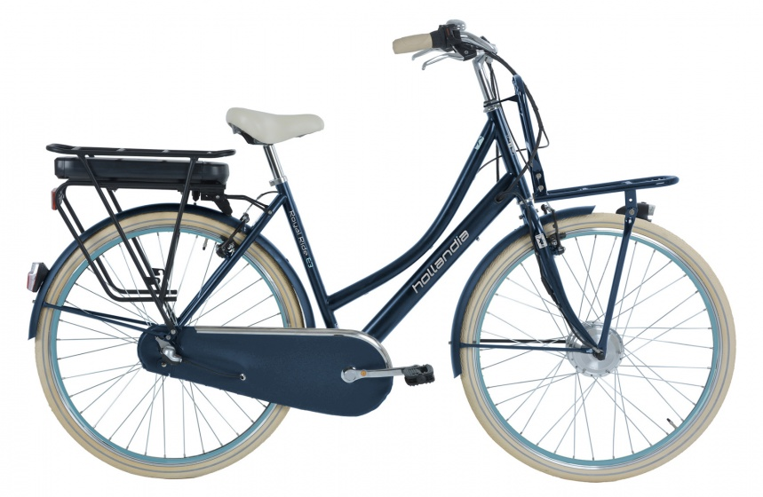 Hollandia Royal Ride E3 28 Inch 53 cm Dames 3V V-Brake Jeansblauw