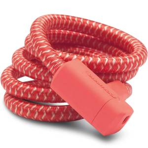 Urban Proof kabelslot braided 150 Kreeft Rood