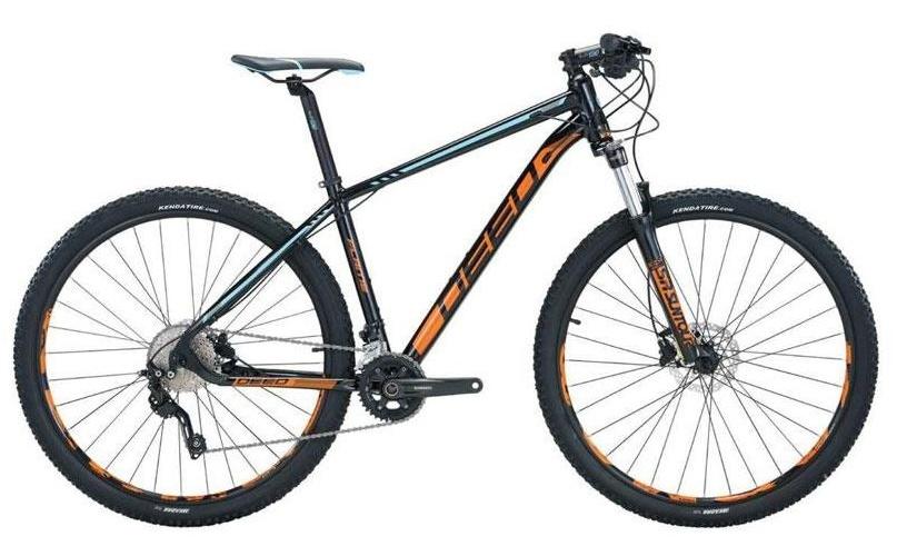 Deed Flame 292 29 Inch 50 cm Heren 10V Hydraulische schijfrem Zwart/Oranje