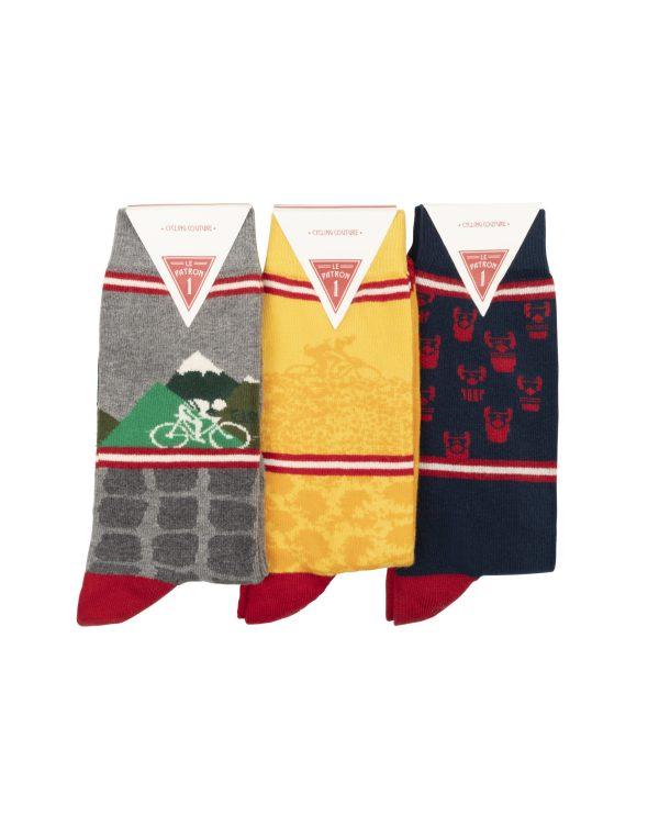 Fiets | Le Patron casual sokken