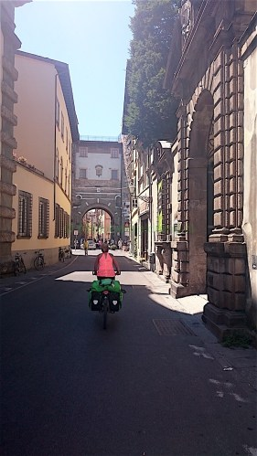 Italie Lucca Fietsdewereldrond.nl