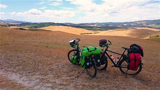 Italie Vada to Volterra (2) Fietsdewereldrond.nl