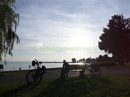 Fietsen over de Bodensee Radweg