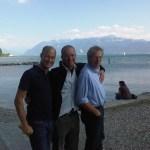 Aangekomen in Lausanne