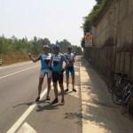 6juli2011 Wachten op de anderen die door de tunnel lopen