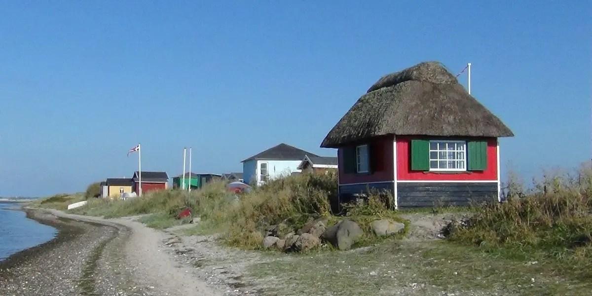 Casas en la playa en Marstal