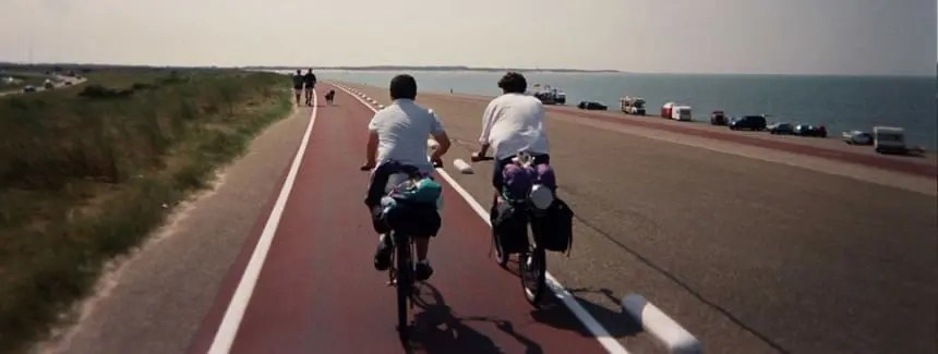 Carril bici en holanda