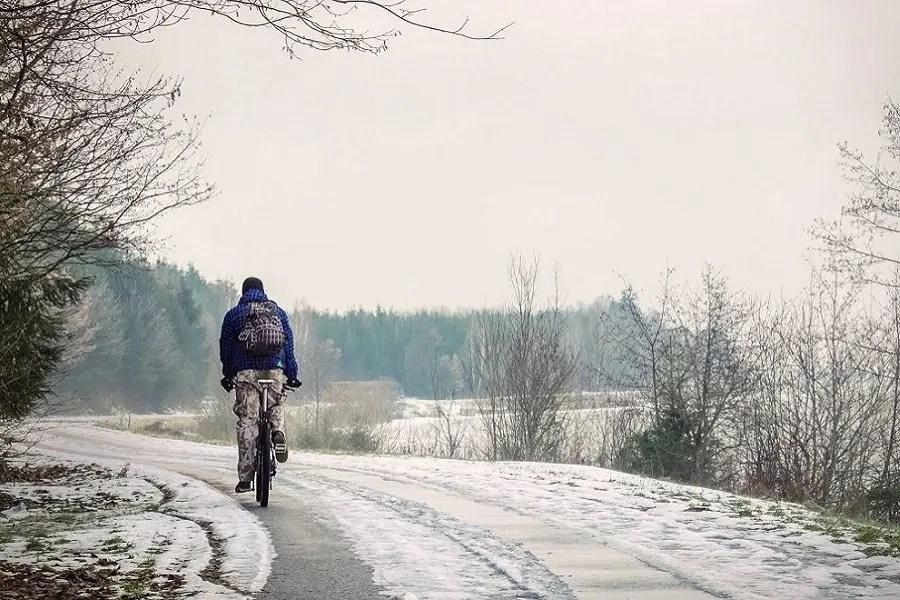 Pedalear en invierno