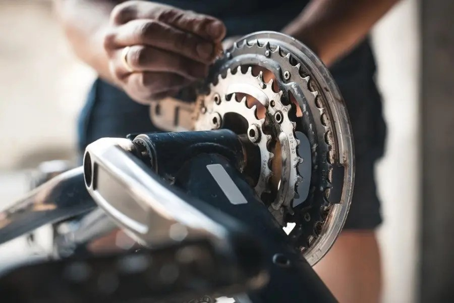 Componentes de una bicicleta