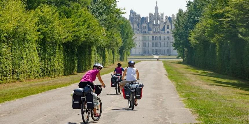 Ruta en bici por los Castillos del Loira