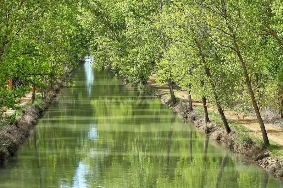 Canal de Castilla ruta en bici