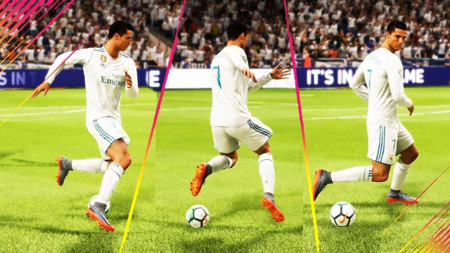 FIFA18 新過人技巧 -C羅轉身 - GameorNothing