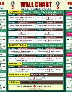 Download fifa world cup wallchart calender  keep track of upcoming matches schedule fixtures also free rh fifafootballworldcupve