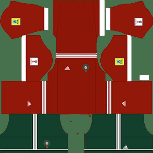 Morocco World Cup Kits 2018 Dream League Soccer