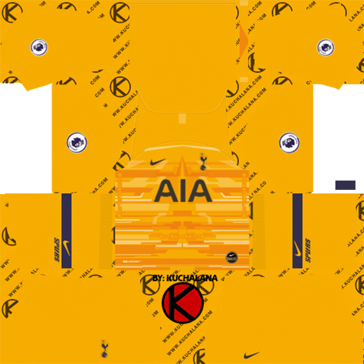 Tottenham GK Away Kit