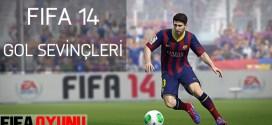 fifa 14 gol sevinçleri