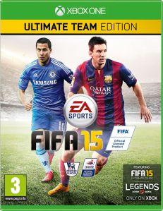 FIFA 15 kapak fotoğrafı Eden Hazard