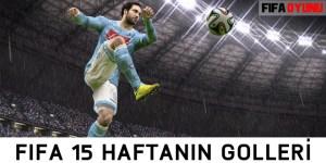 FIFA15 haftanın golleri