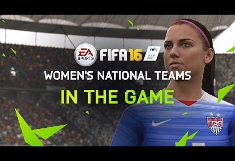 fifa 16 kadın milli takımları