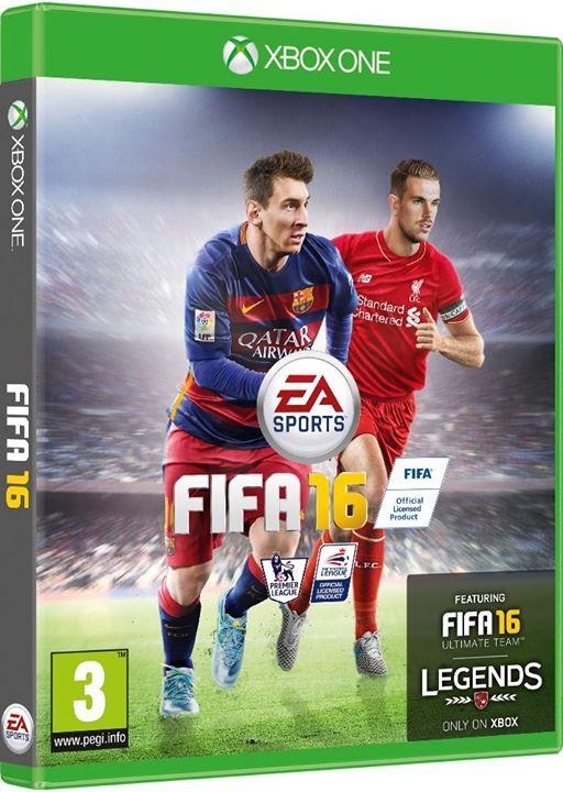 FIFA 16 İngiltere Kapak Fotoğrafı Jordan Henderson
