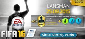 FIFA 16 Ön Sipariş