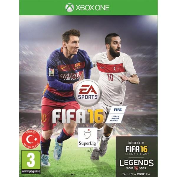 FIFA 2016 XBOX ONE Türkiye Kapağı Arda Turan