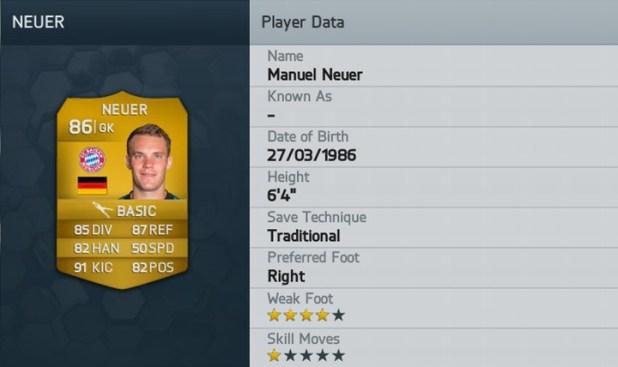 fifa14-Manuel Neuer