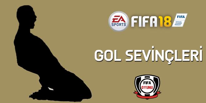 FIFA18 gol sevincleri