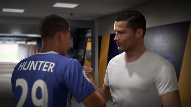 fifa 18 alex hunter cristiano ronaldo