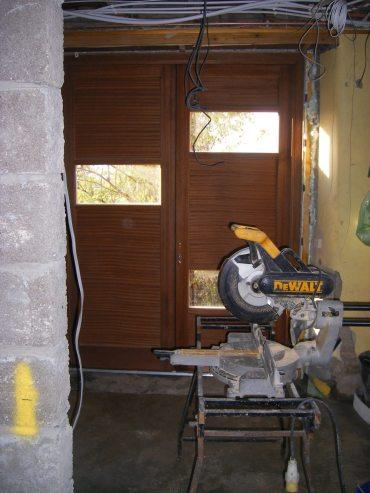 Glasgow Basement Conversion - new Store Door