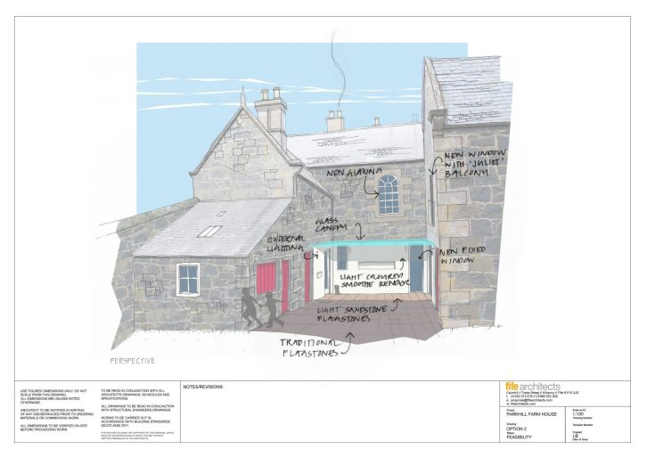 Fife Conservation Design © Fife Architects