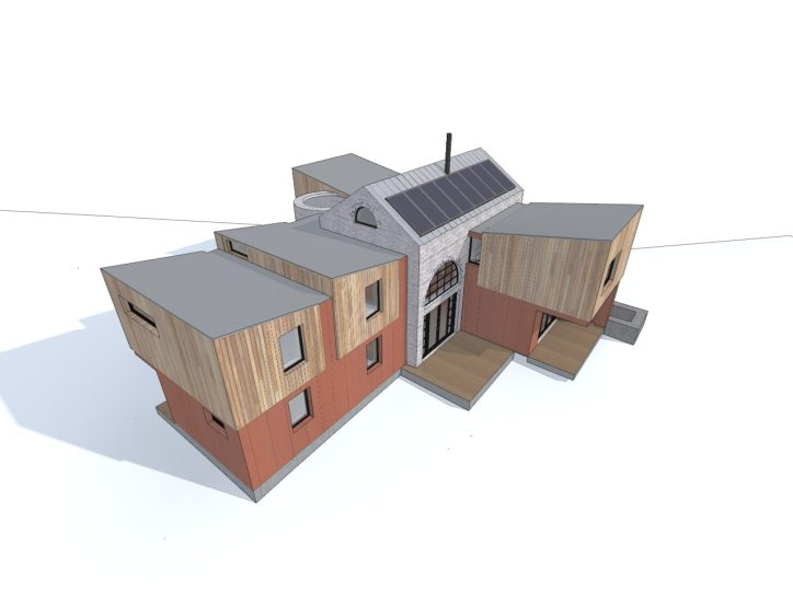 Iron Mill Bay New House Design