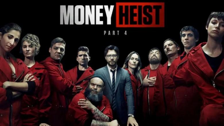 Best Spanish Shows On Netflix - money heist