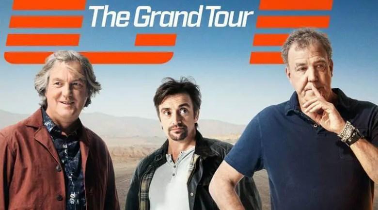 3 old men standing/ Grand Tour Season 5 release date