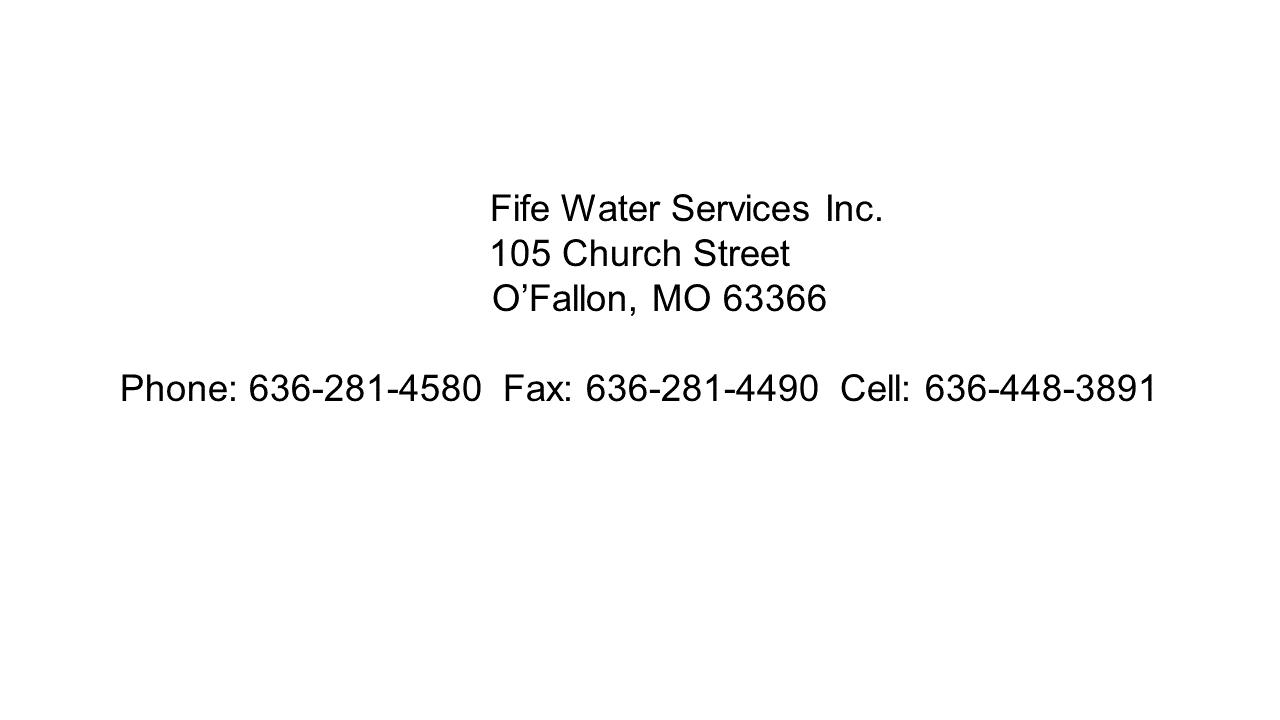 Fife Address