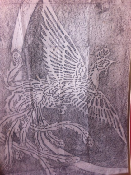 Pencil rubbing by Cylvi Manthyng from Okinawa, Japan
