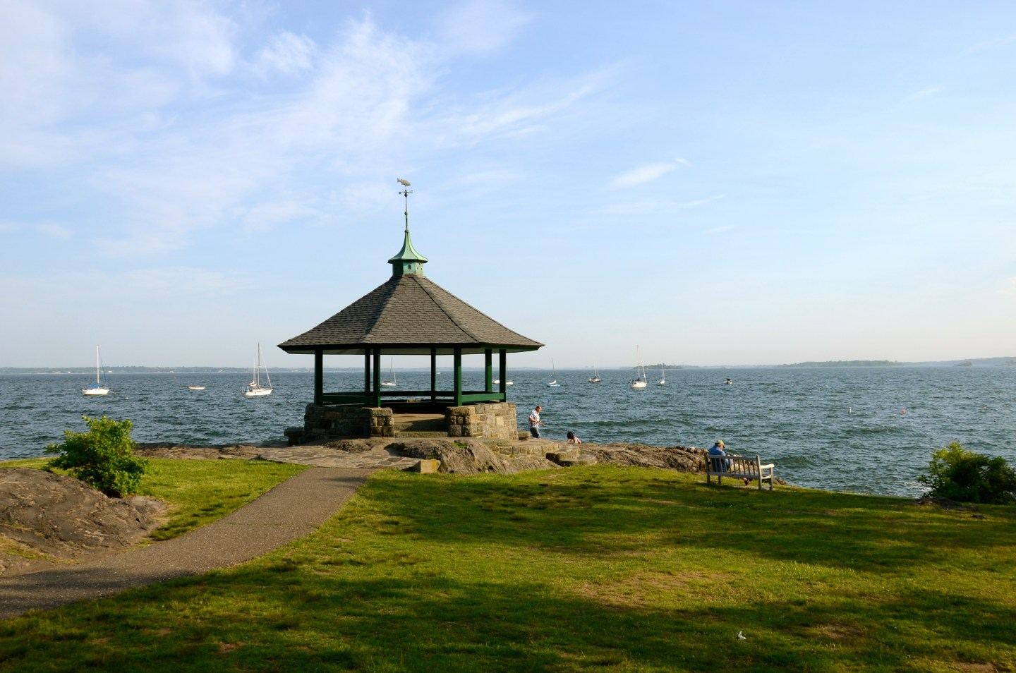 Larchmont Manor Park: When We Can't Get Away, Our Local Get-away