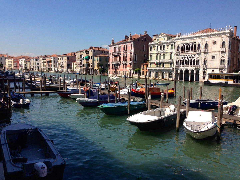 Exploring Venice, Italy.