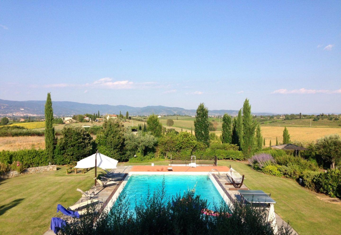 Beautiful Tuscany: Cortona Village & Villa Loggio Winery