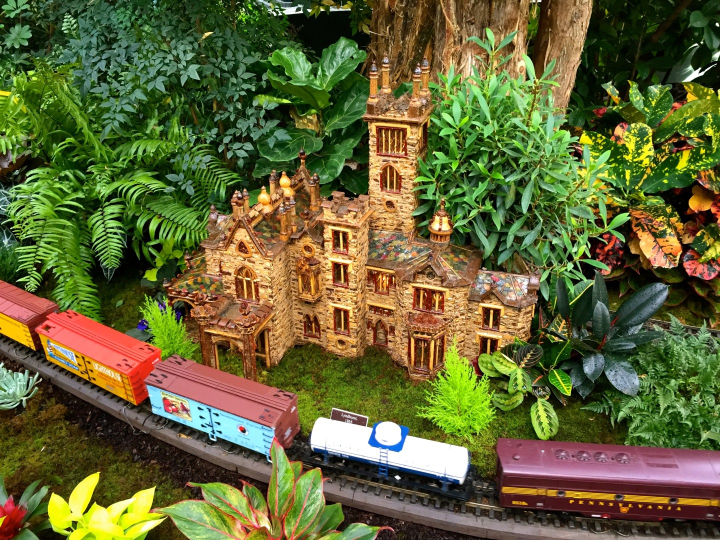 Day out at the Holiday Train Show at the New York Botanical Garden.