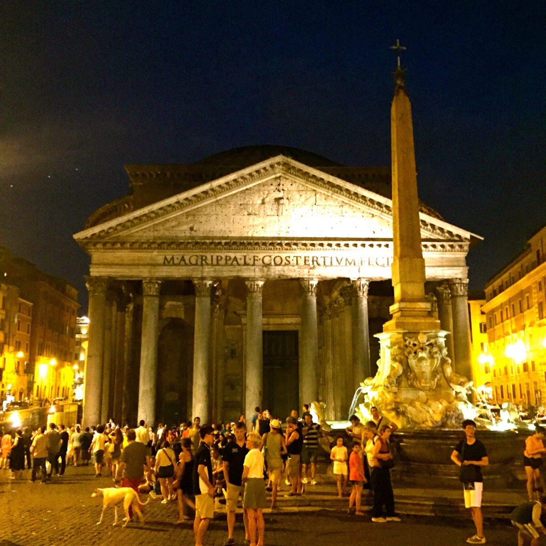 The Magic of Rome at Night