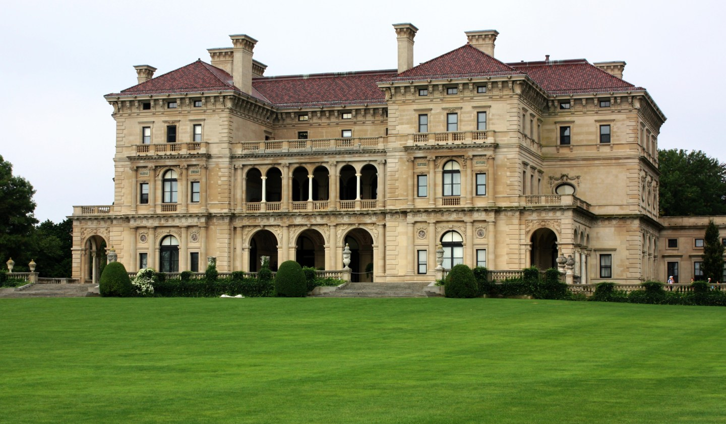 A visit to the mansions in Newport, RI
