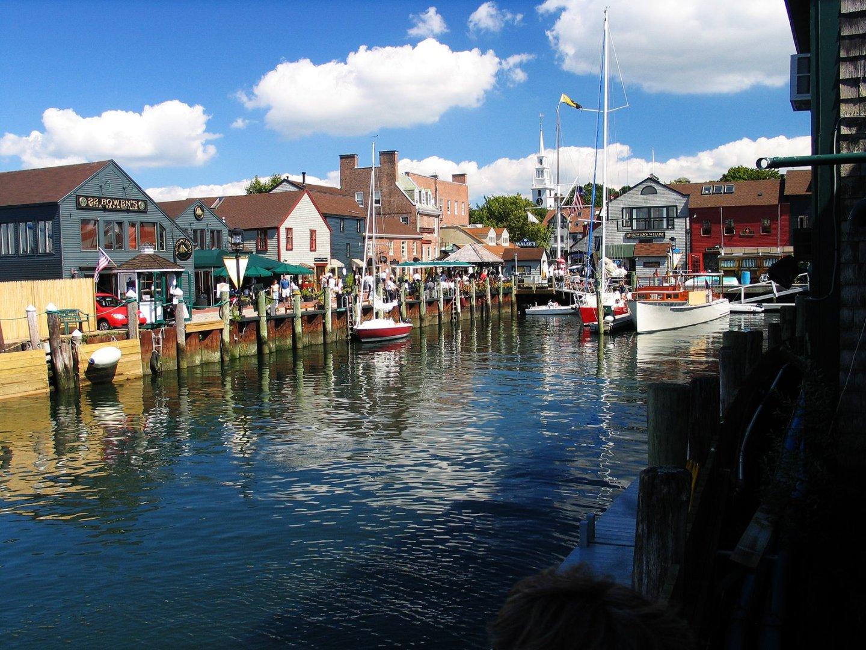 Newport, RI with kids, the harbor