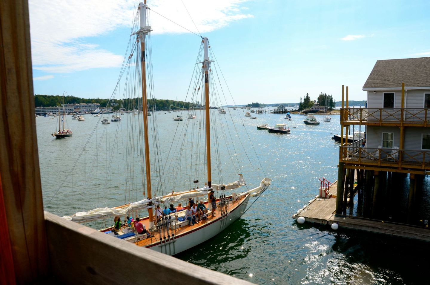 A Jaunt Through Boothbay Harbor, Maine