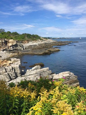 A visit to the beautiful Portland headlight in Portland, Maine