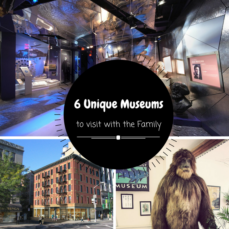 6 Unique Museums to Visit with the Family