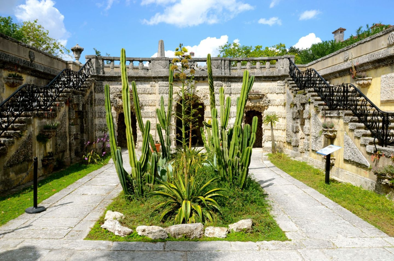 Vizcaya Gardens in Miami