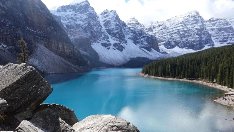 Banff National Park in Canada is one of the most beautiful places in the world, and very family friendly.