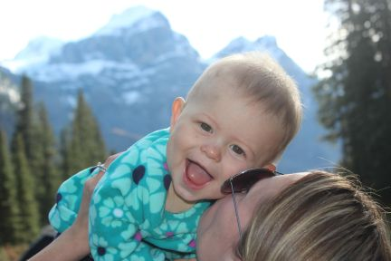 Banff National Park in Canada is not only one of the most beautiful places in the world but it's also very family friendly.
